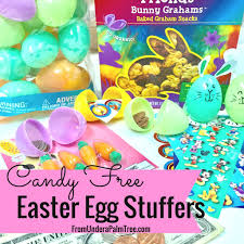 easter egg stuffers diy easter egg bunnies from a palm tree