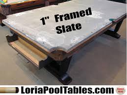 brunswick slate pool table sold pre owned brunswick v i p pedestal 8ft over sized pool table