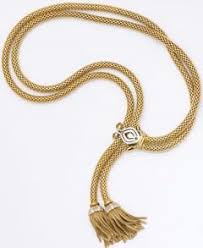 golden rope necklace images French 18k gold rope necklace c 1940 39 s jpg