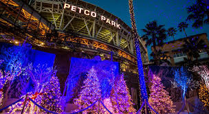 christmas lights san diego 2015 san diego holiday events holiday wonderland petco park