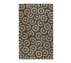 Qvc Area Rugs Klaussner Coffee Shop Choc Brown Blue 96
