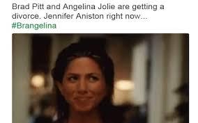 Angelina Jolie Meme - brangelina break up sends twitter into meltdown
