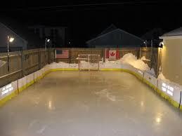 How To Build A Backyard Ice Rink by Backyard Rinks