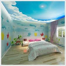kids bedroom ideas funny fish wallpaper for beach themed kids bedroom ideas home