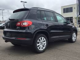 black volkswagen tiguan volkswagen tiguan for sale in edmonton alberta