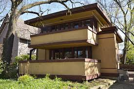 Prairie Home Style Frank Lloyd Wright U0027s Laura Gale House In Oak Park Hits Market
