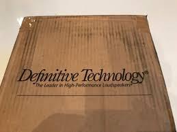 Definitive Technology Bookshelf Speakers Brand New Pair Of Definitive Technology Studio Monitor 65