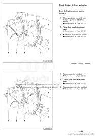 audi a3 2003 8l 1 g general body assembly interior workshop manual