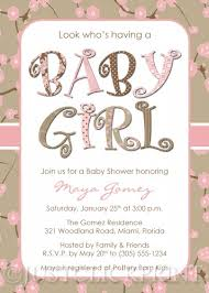baby girl invitations baby girl invitations mes specialist