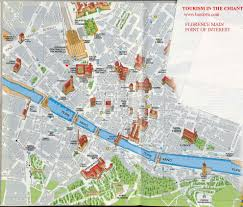 Map Of Florence Italy Map Of Tourist Attractions In Florence Italy You Can See A Map