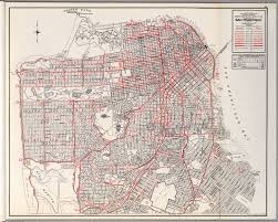 Map Of San Francisco by City And County Of San Francisco David Rumsey Historical Map