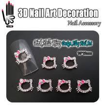 popular hello kitty nail art designs buy cheap hello kitty nail