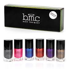 bmc metallic color nail stamping lacquers creative art polish