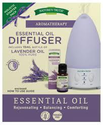 Amazon Oil Diffuser by Amazon Com Nature U0027s Truth Essential Oil Diffuser Starter Pack