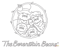 coloring berenstain bears coloring pages