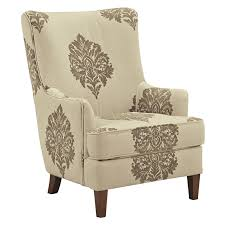 damask chair darby home co tallmadge damask armchair reviews wayfair