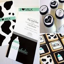 coed baby shower themes a coed milk and cookies themed baby shower popsugar