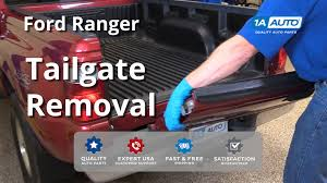 2002 ford ranger tailgate how to remove and reinstall tailgate 2001 ford ranger