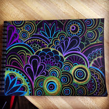 colored resume paper black paper with prisma colored pencils zen pinterest black black paper with prisma colored pencils