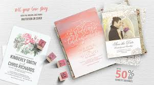 Personalized Wedding Invitations Rustic And Modern Wedding Invitations