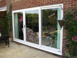Used Patio Doors Sliding Patio Doors With Built In Blinds 3 Panel Door Lowes Glass