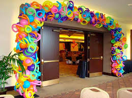 balloon photo arch sweet 16 air design can transform your venue