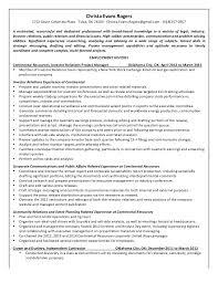 Resume Ok 6 2 15 Christa Evans Rogers Resume