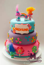 23 best pasteles de trolls images on pinterest trolls cakes