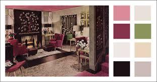 livingroom world 1943 living room color scheme wwii era mid century modern