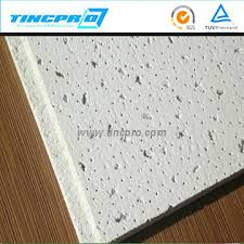Fiber Ceiling Tiles by Mineral Wool Board 600 600mm Acoustic Mineral Fiber Ceiling Tiles
