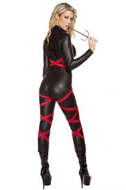 Ninja Halloween Costumes Girls Naughty Ninja Costume