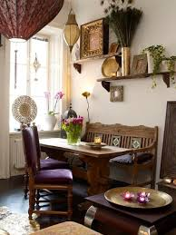 How To Decorate A Dining Room Wall Best 25 Bohemian Dining Rooms Ideas On Pinterest Midcentury