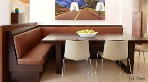 sofa bench for dining table high tech corner dining tables modern storage area small space ideas
