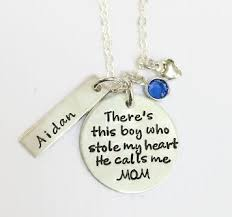 personalized necklace there s this boy personalized necklace at sweet blossom gifts