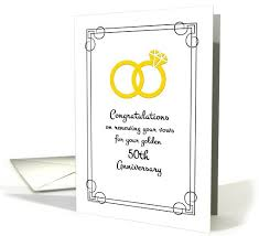 vow renewal cards congratulations congratulations on renewing vows for golden 50th anniversary card