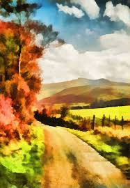 art print titled brecon beacons valerie anne kelly found at art by