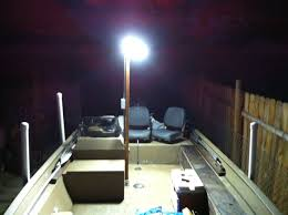 Led Light Bar For Boats by Building Led Light Post For My Boat For Night Fishing All Details