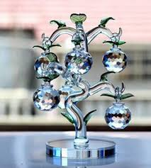Decorate Christmas Tree Valentine S Day by Christmas Tree Home Decoration For New Year Crystal Apple Tree
