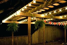 String Lights On Patio Outdoor Summer String Lights Patio Lighting Ideas Out Door