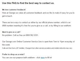 Furniture Customer Service Phone Asda Customers Contact Number 0800 952 0101 Free Number
