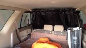 how to hang clothes or a curtain in your car youtube