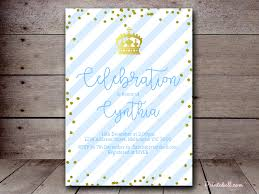 prince baby shower invitations baby shower invitations printabell create