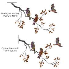 birds and tree branch wall sticker decal