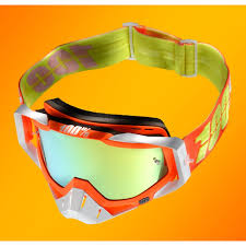 100 motocross goggle racecraft watermelon 100 crossbrille racecraft verspiegelt 17 enduro store