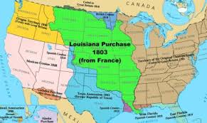 usa map louisiana purchase the louisiana purchase jefferson bought for 15 mil