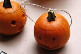 Halloween Path Lights by Make Mini Pumpkin Lanterns Hgtv