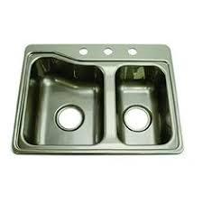 Double Sinks Kitchen by Elkay Ge12522r 25