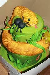 snake cake ideas for boys 22919 cake matched the reptile t