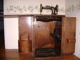 Singer Kitchen Cabinets by Antique Singer Sewing Machine Cabinet Antique Furniture