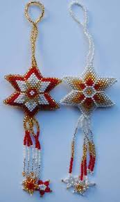 beaded ornaments tree of imports